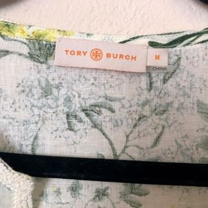 Tory Burch Tops - Tory Burch Floral Tunic Medium